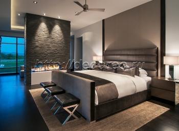 Двуспальная кровать модель 004