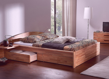 Двуспальная кровать модель 007