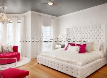 Двуспальная кровать модель 008