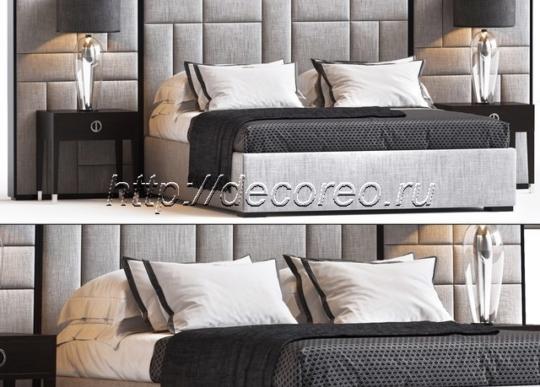 Кровать Space Gray