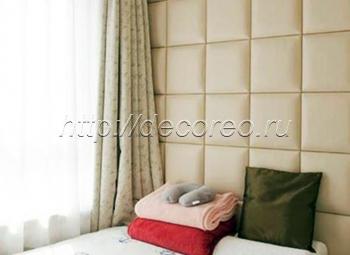 Мягкие панели в спальню