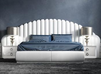 Кровать Letto argento
