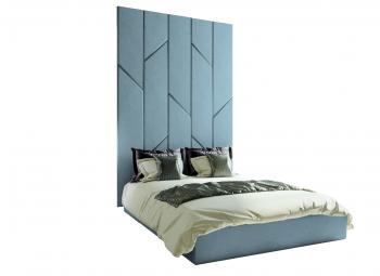 Кровать с мягкими панелями Renny