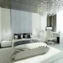 Кровать с мягкими панелями Jessi